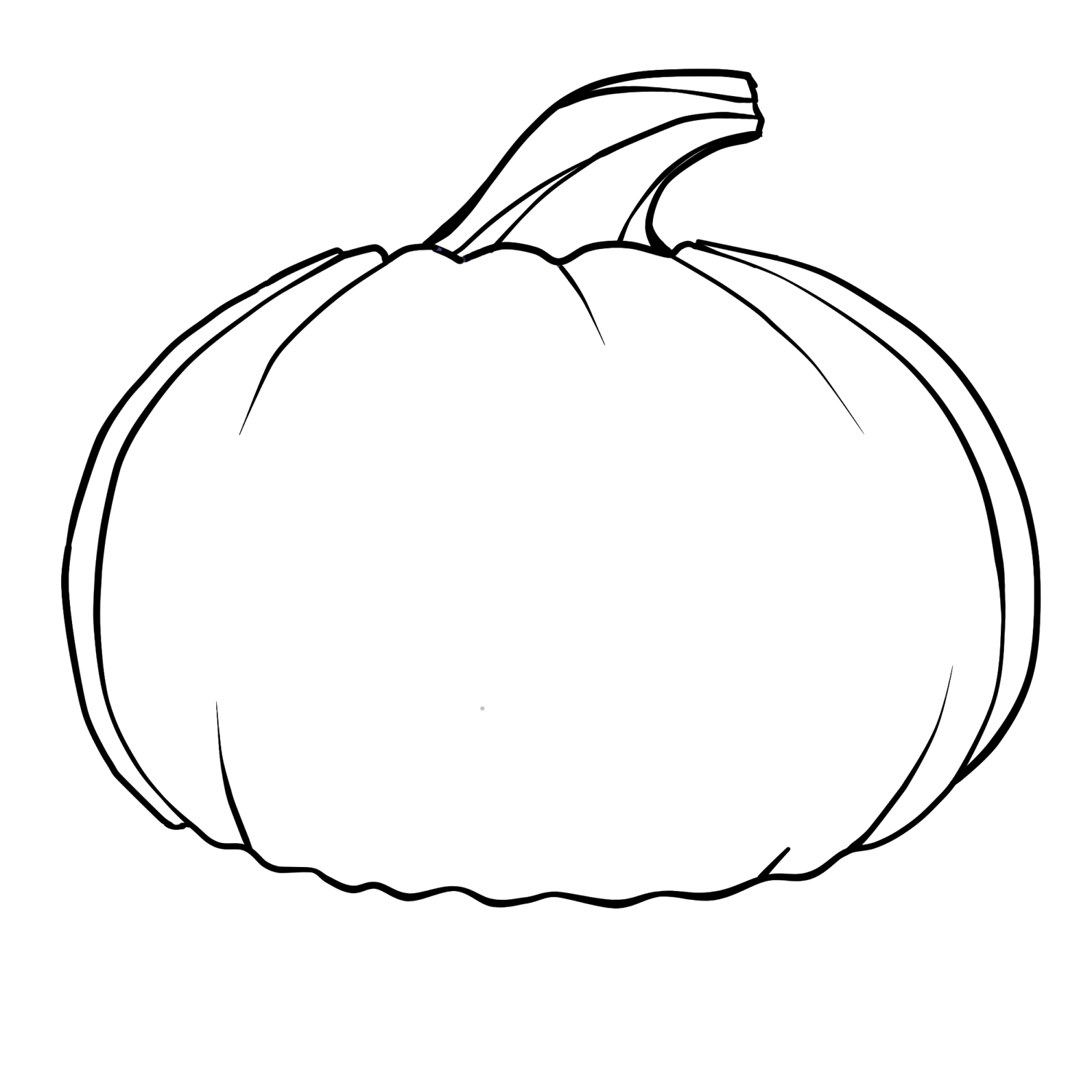 4 Images of Free Printable Pumpkin Coloring Pages