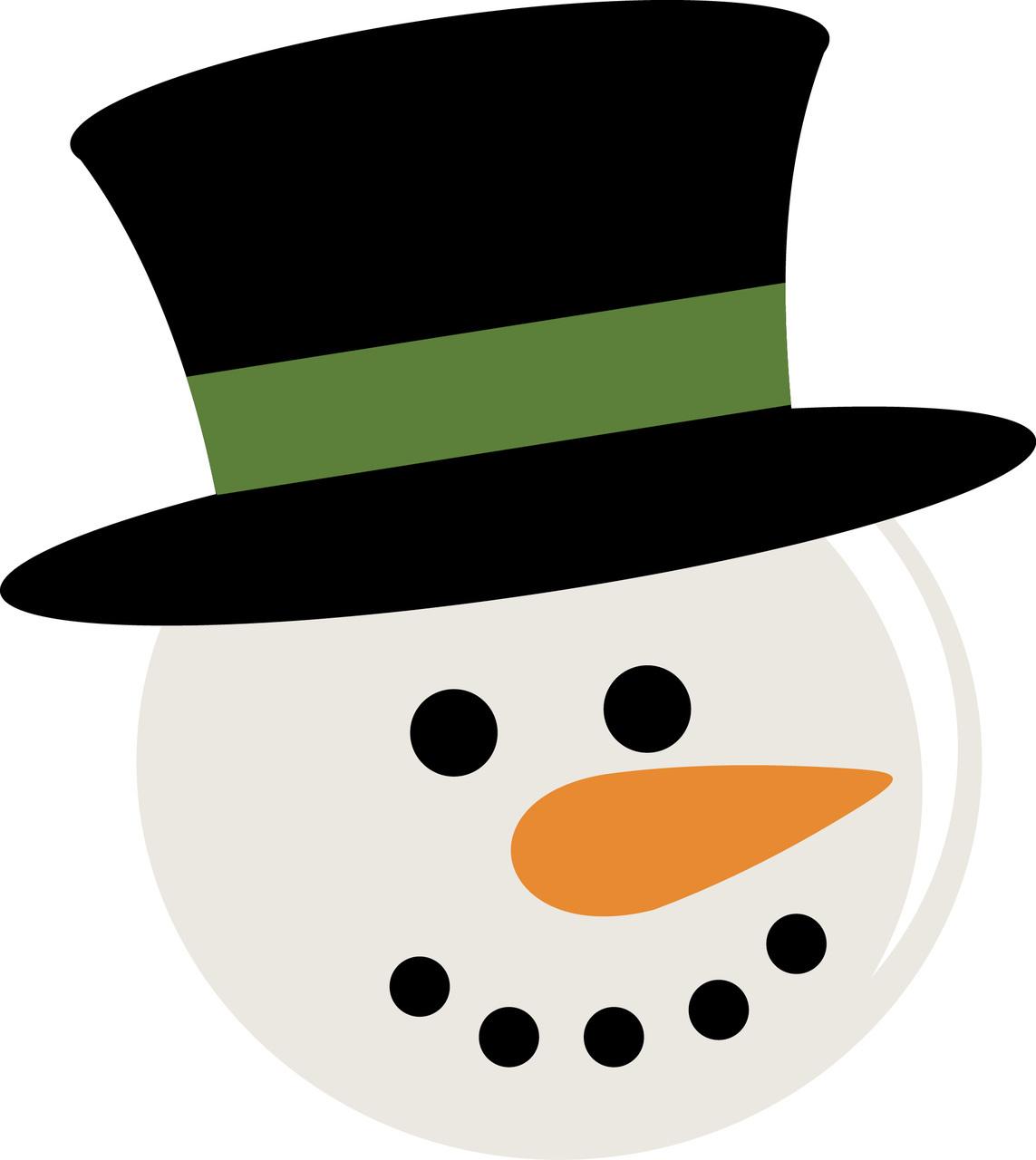 Best Images of Snowman Head Printable - Free Printable Snowman ...