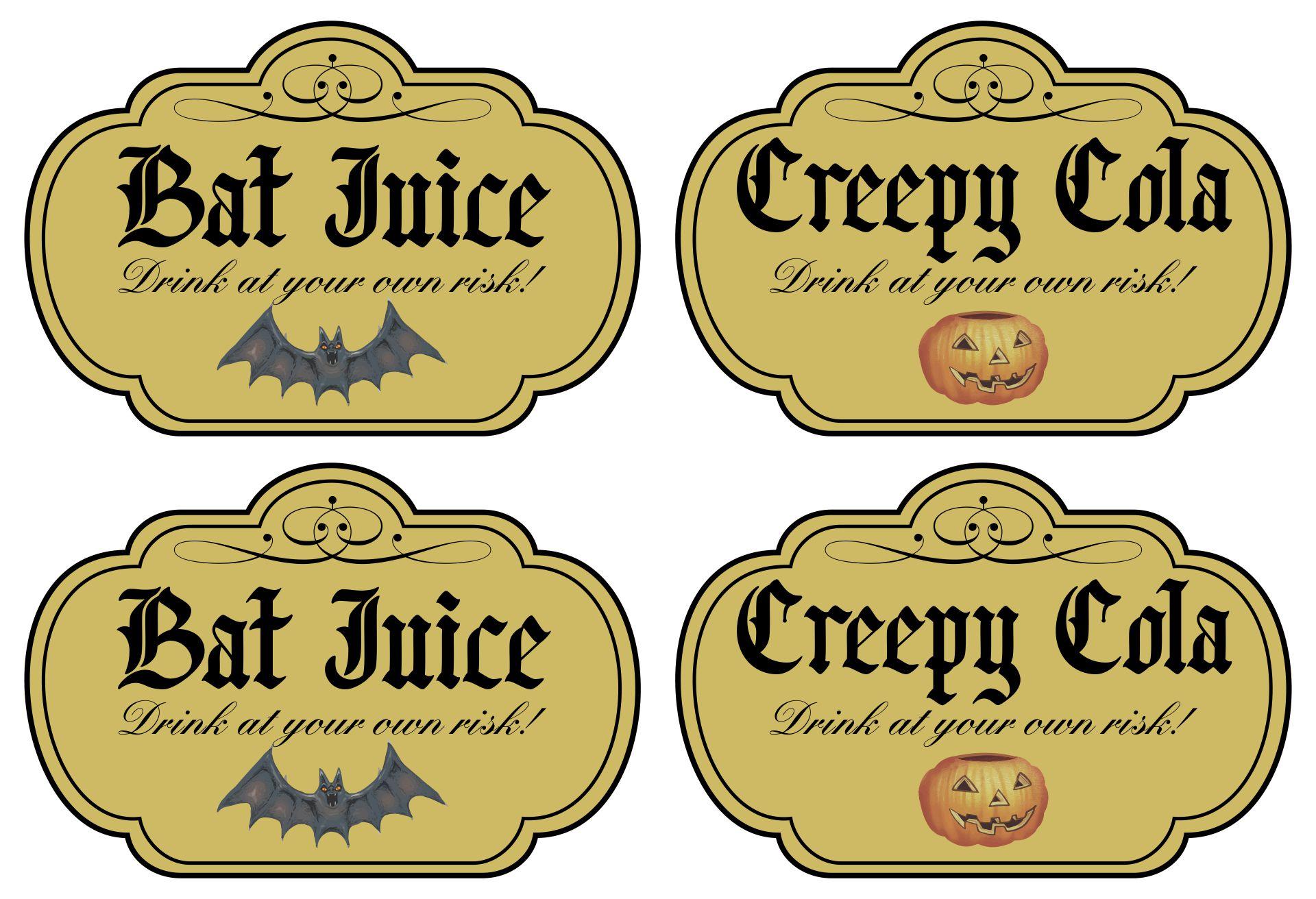 Soda Bottle Labels Printable Free