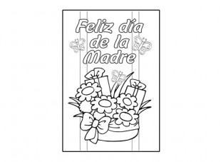 4 Images of Spanish Mother's Day Card Printable Templates
