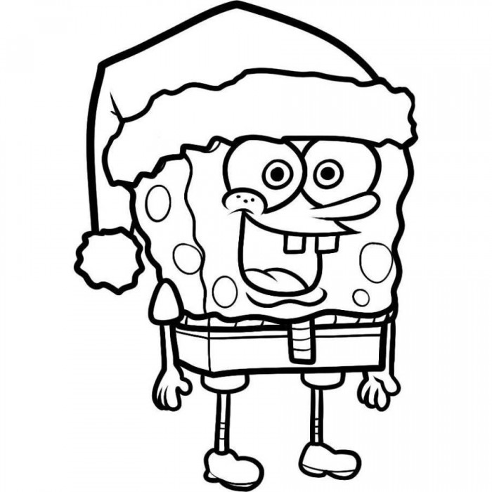 7 Images of Free Printable Spongebob Coloring Pages