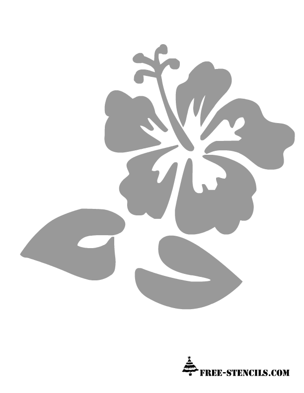 9 Best Images of Free Printable Floral Stencils - Free ...