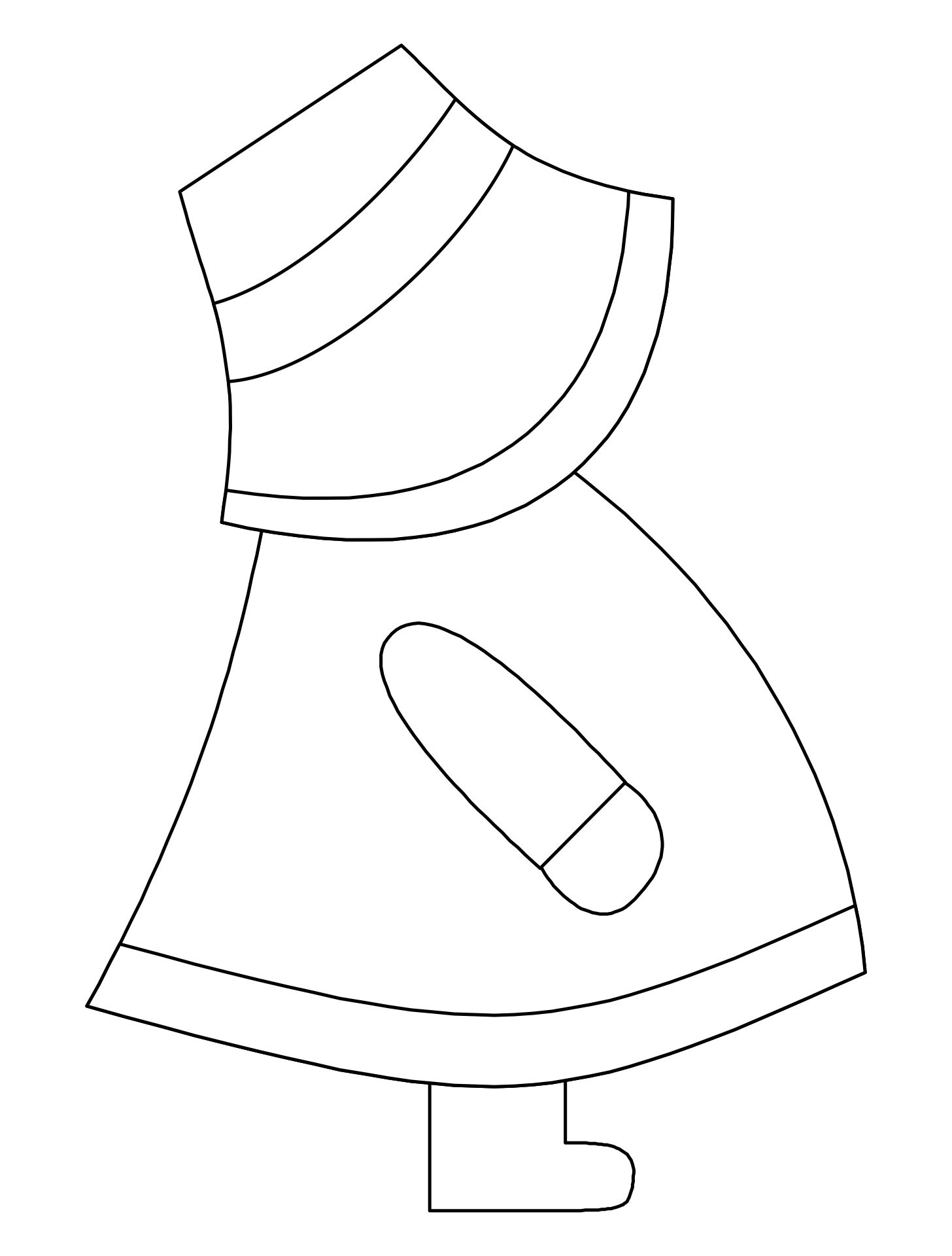 Sunbonnet Sue Crochet Potholder Pattern