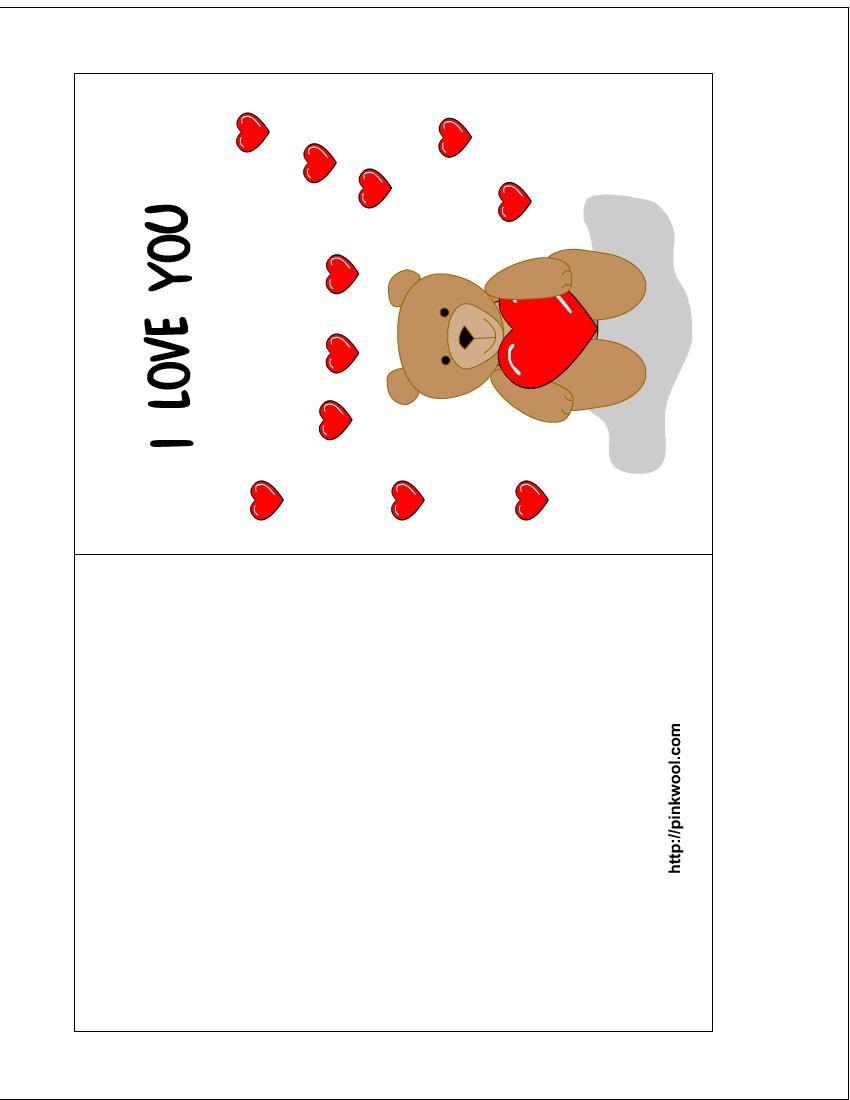 7 Images of Animal Print Card Templates Printable Free