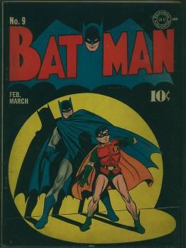 Vintage Batman Comic Book Covers