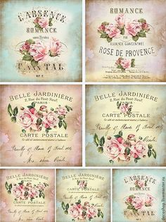 5 Images of Spanish Printable Vintage Can Labels