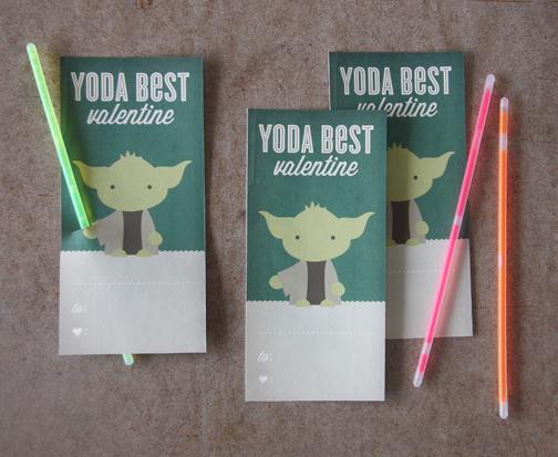 8 Images of Yoda Valentine Printable