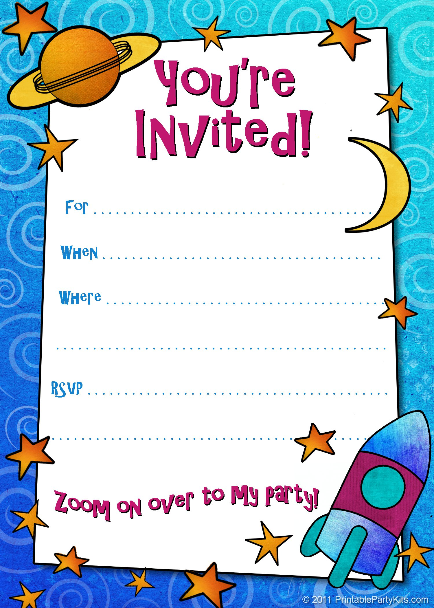 8 Images of Printable Invitations For Boys
