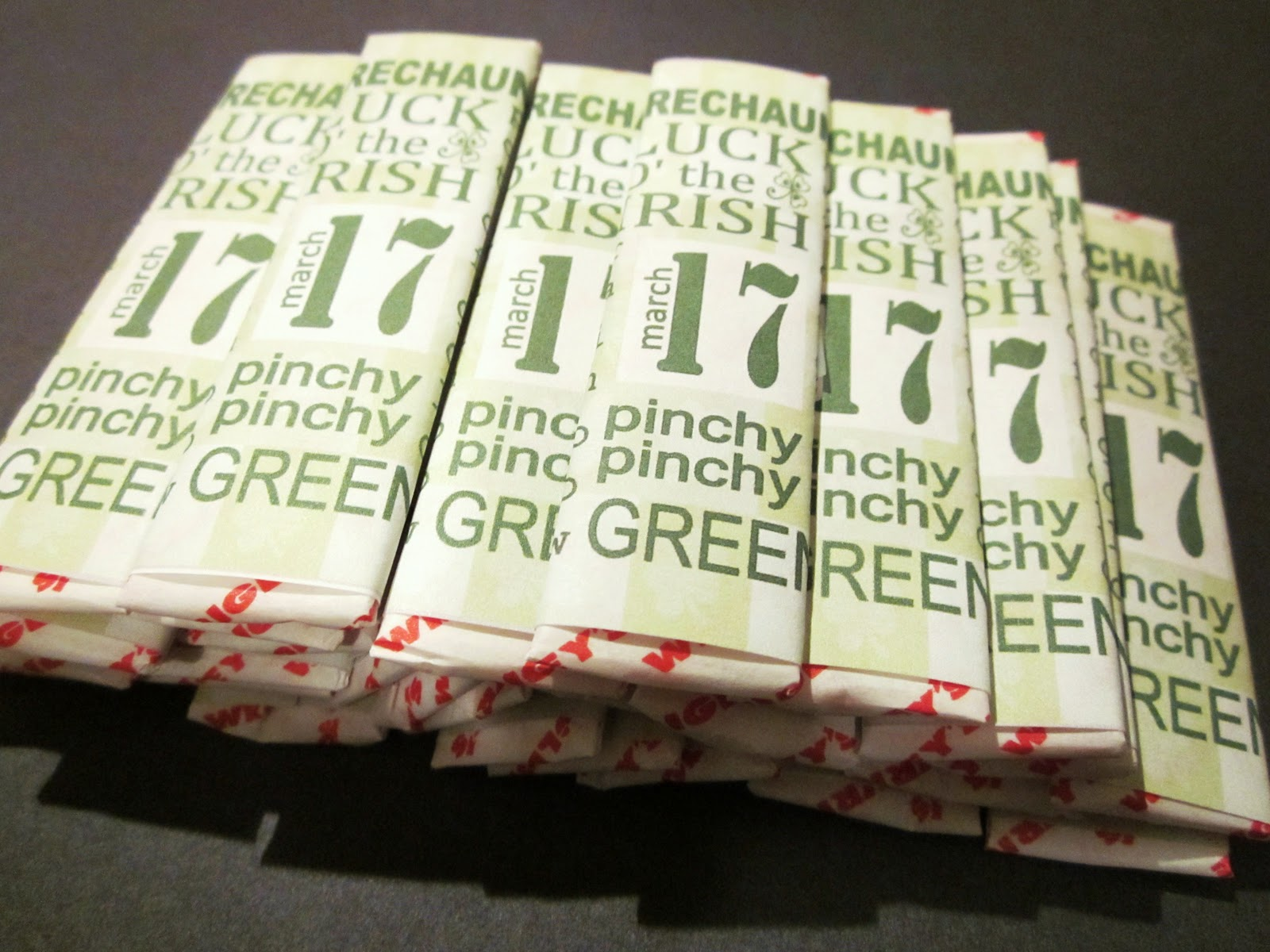 6 Images of Subway Wrappers Printables
