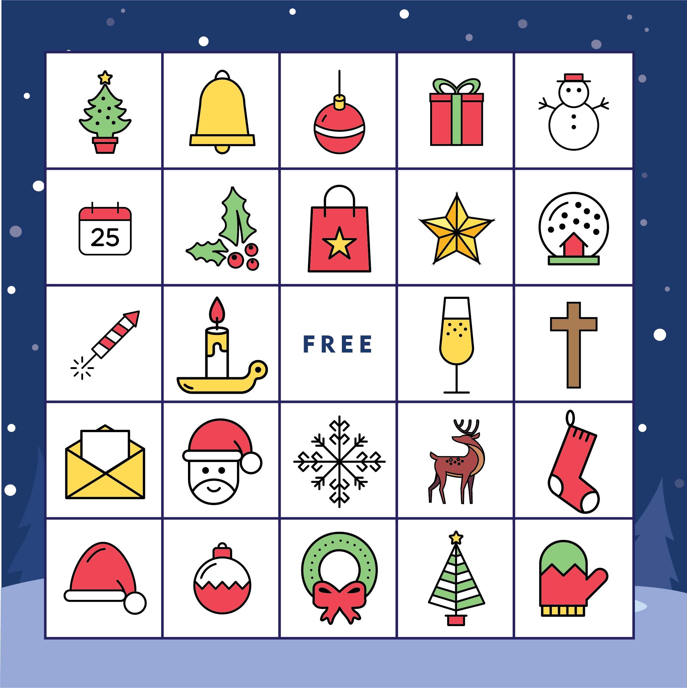 Christian Christmas Bingo- Printable