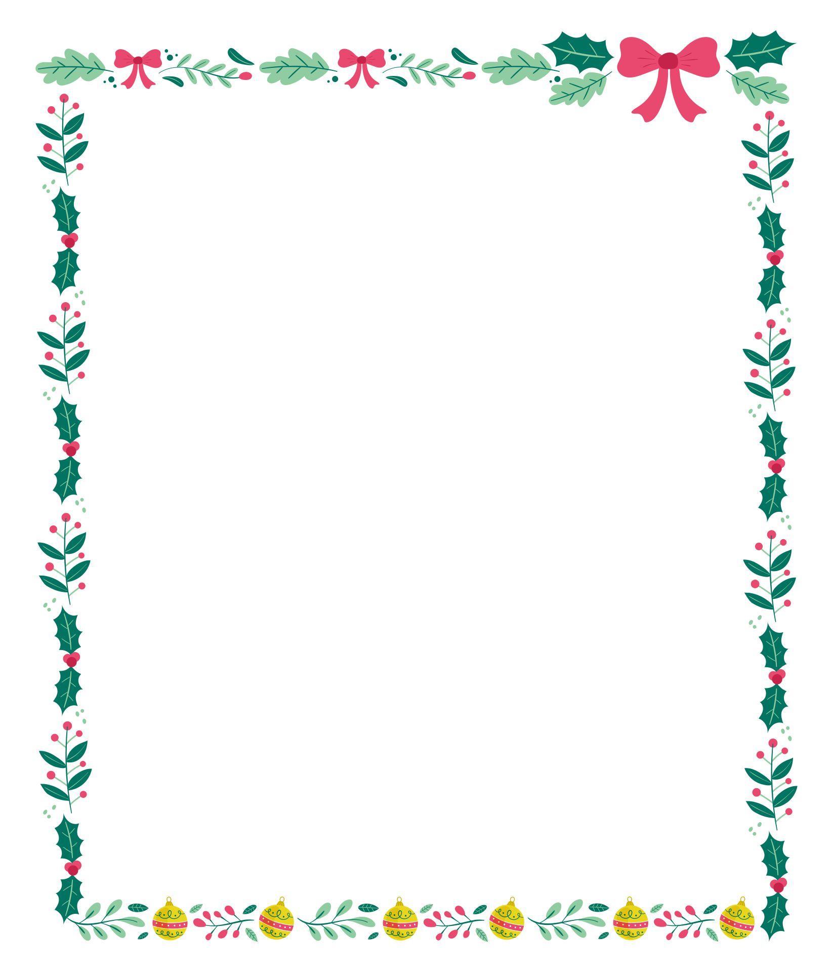 Christmas Border Clip Art