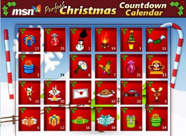 Christmas Countdown Calendar 2015