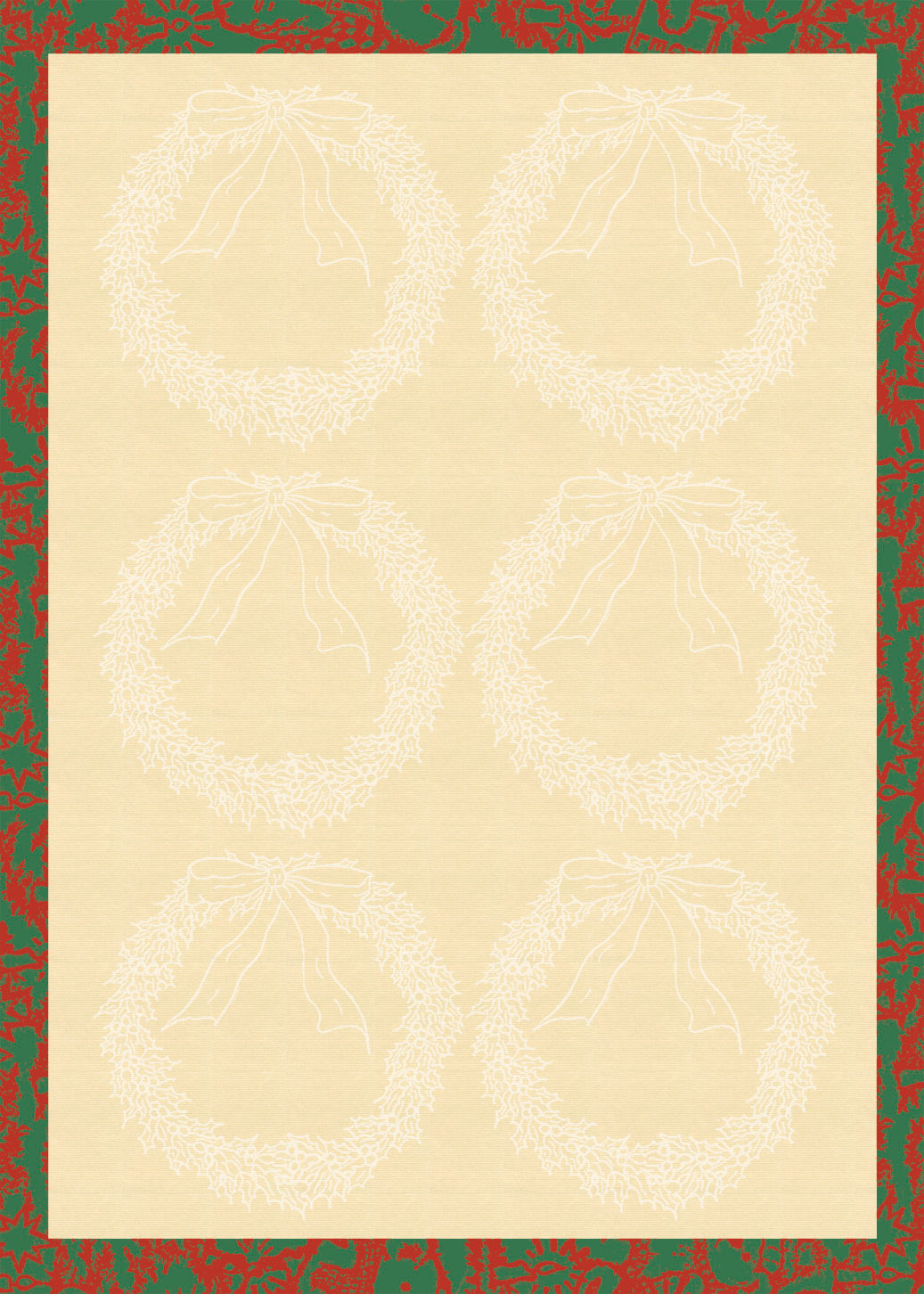... of Holiday Printable Paper Christmas Paper Borders printable Treasure