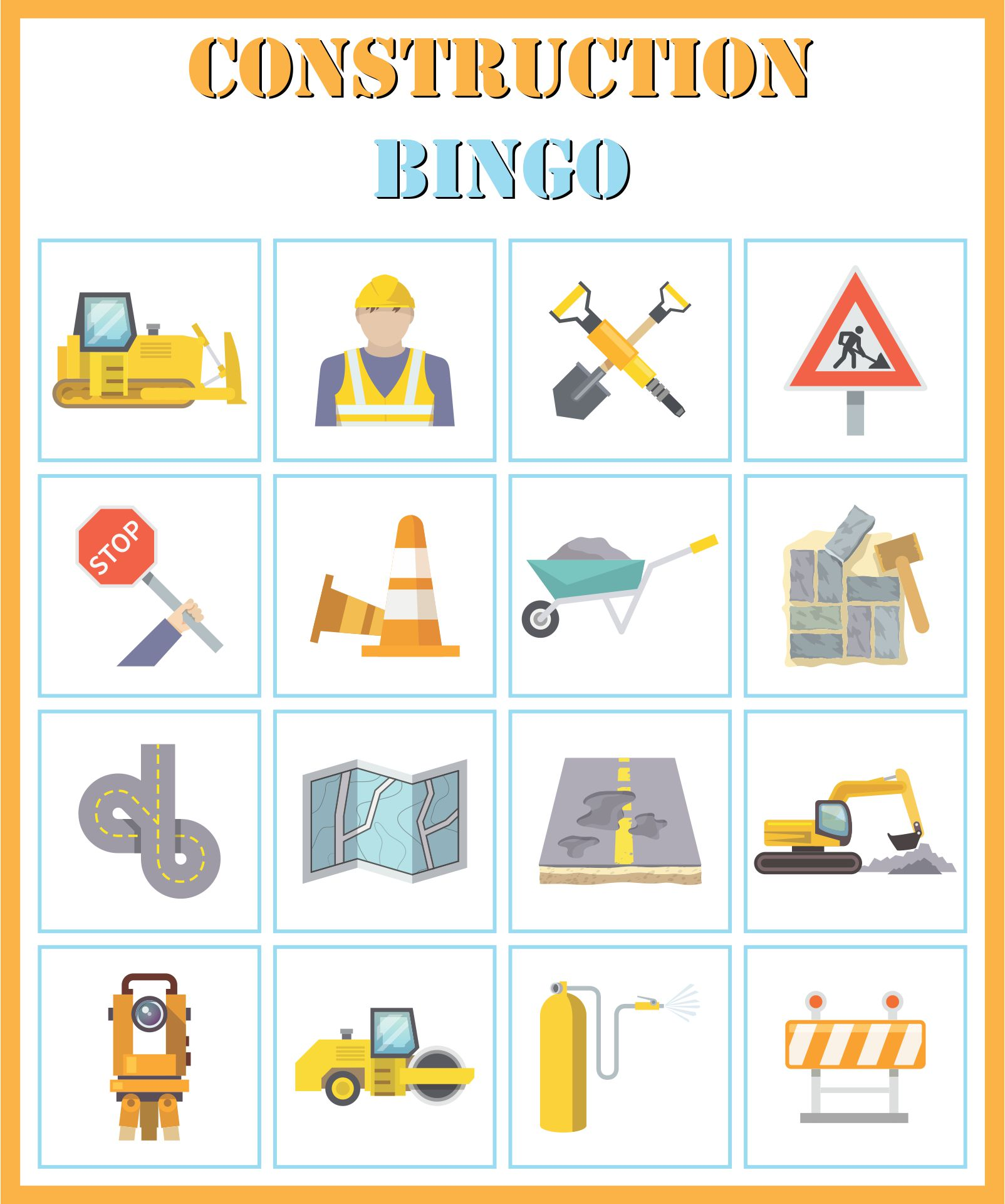 Construction Themed Birthday Party Games