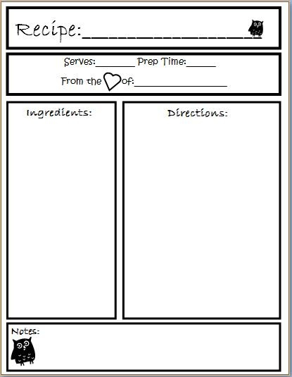 Tabernacle Printable Full Page Templates Pictures to Pin on – Cookbook Template