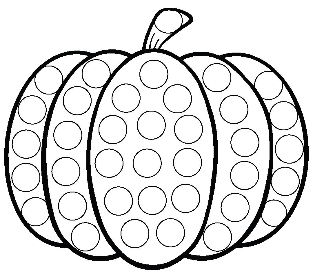 Do a Dot Halloween Worksheets