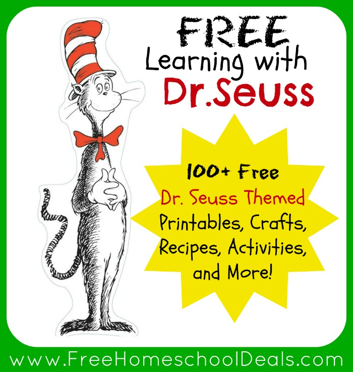 5 Images of Free Printable Dr. Seuss Books
