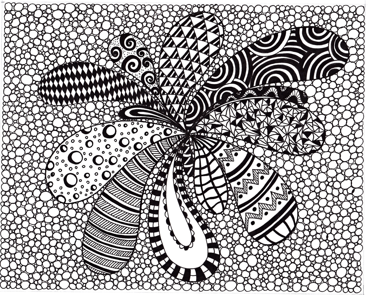 Famous Abstract Line Art : Best images of printable artwork black and white