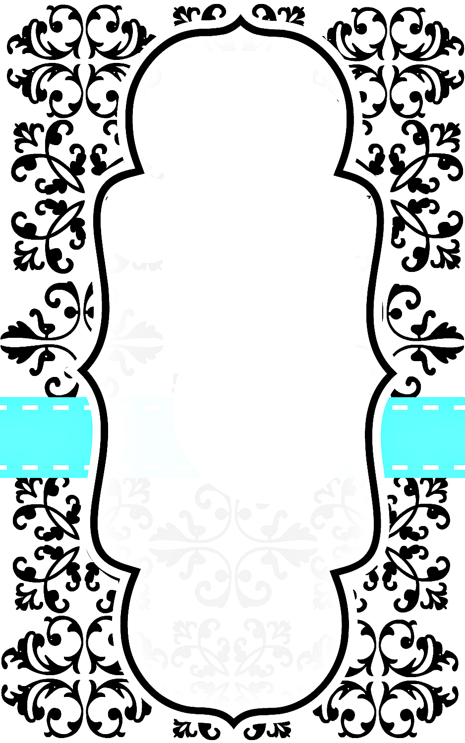 8 Images of Free Damask Printables