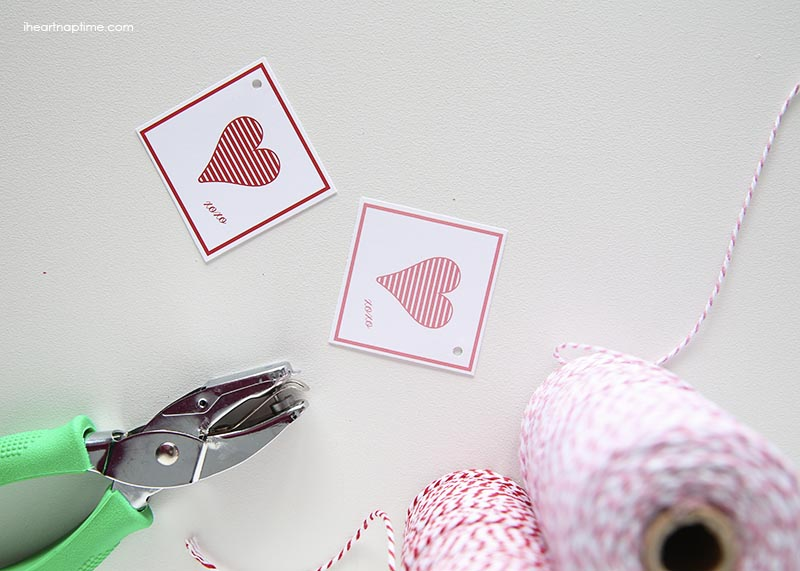Free Printable Gift Tags Valentine's Day