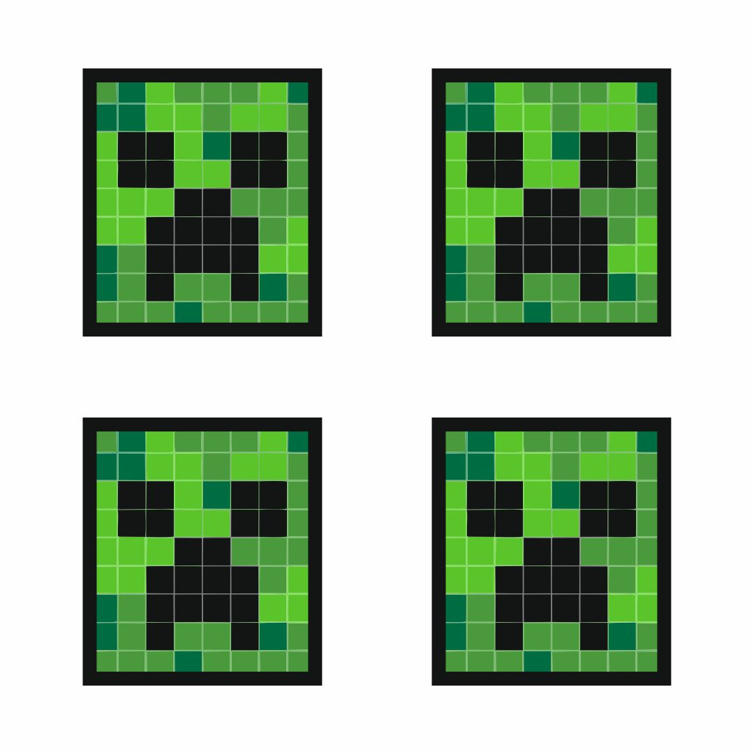 8 Best Minecraft Printable Creeper Face - printablee.com