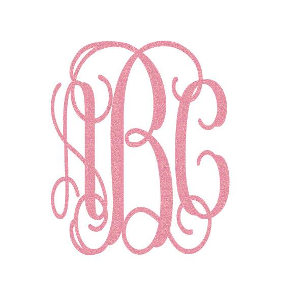5 Images of Printable Monogram Initials