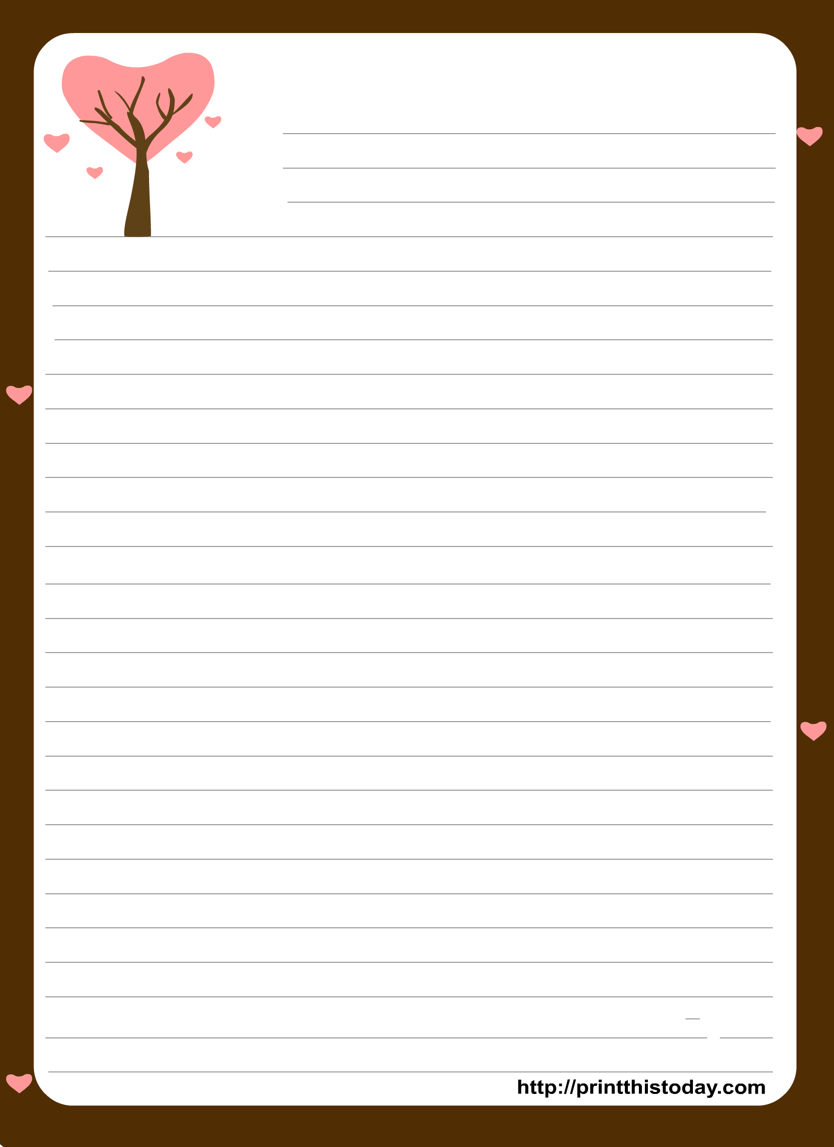 7 Best Images of Cute Note Printable Template - Cute Note ...
