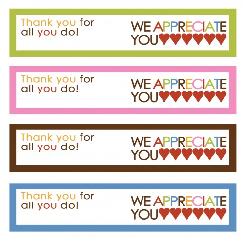 8 Best Images of Teacher Thank You Printable Labels ...