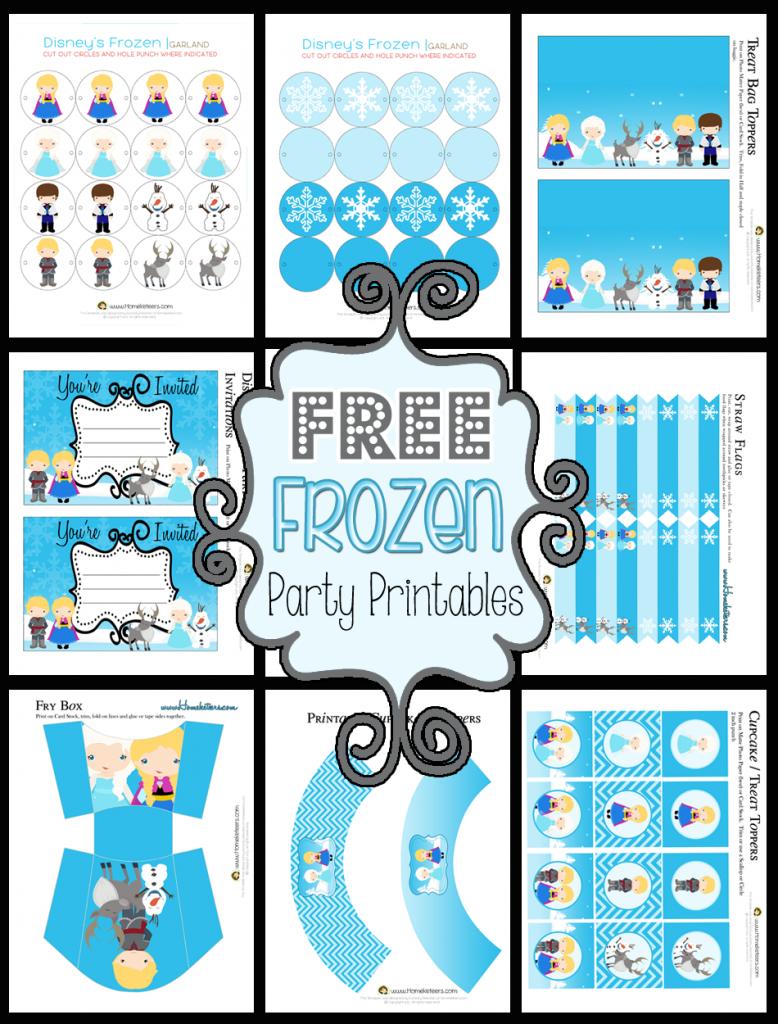 9 Images of Disney Theme Printables
