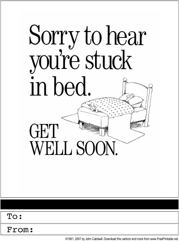 4 best images of get well cards printable free printable get well cards free printable get. Black Bedroom Furniture Sets. Home Design Ideas