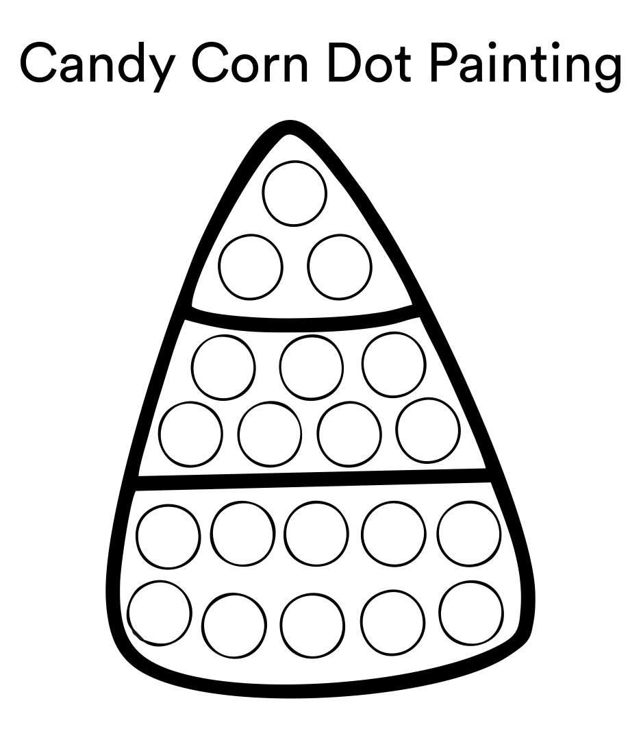 7 Images of Halloween Do A Dot Printables