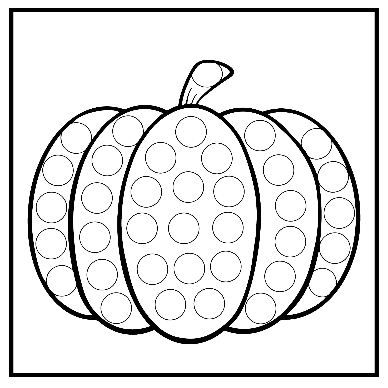 Halloween Do-A-Dot Printables
