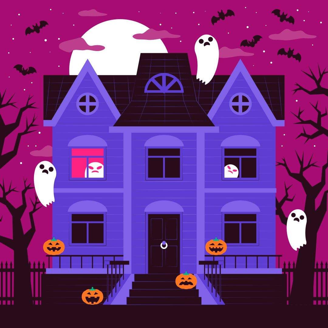 Halloween Haunted House Clip Art Free