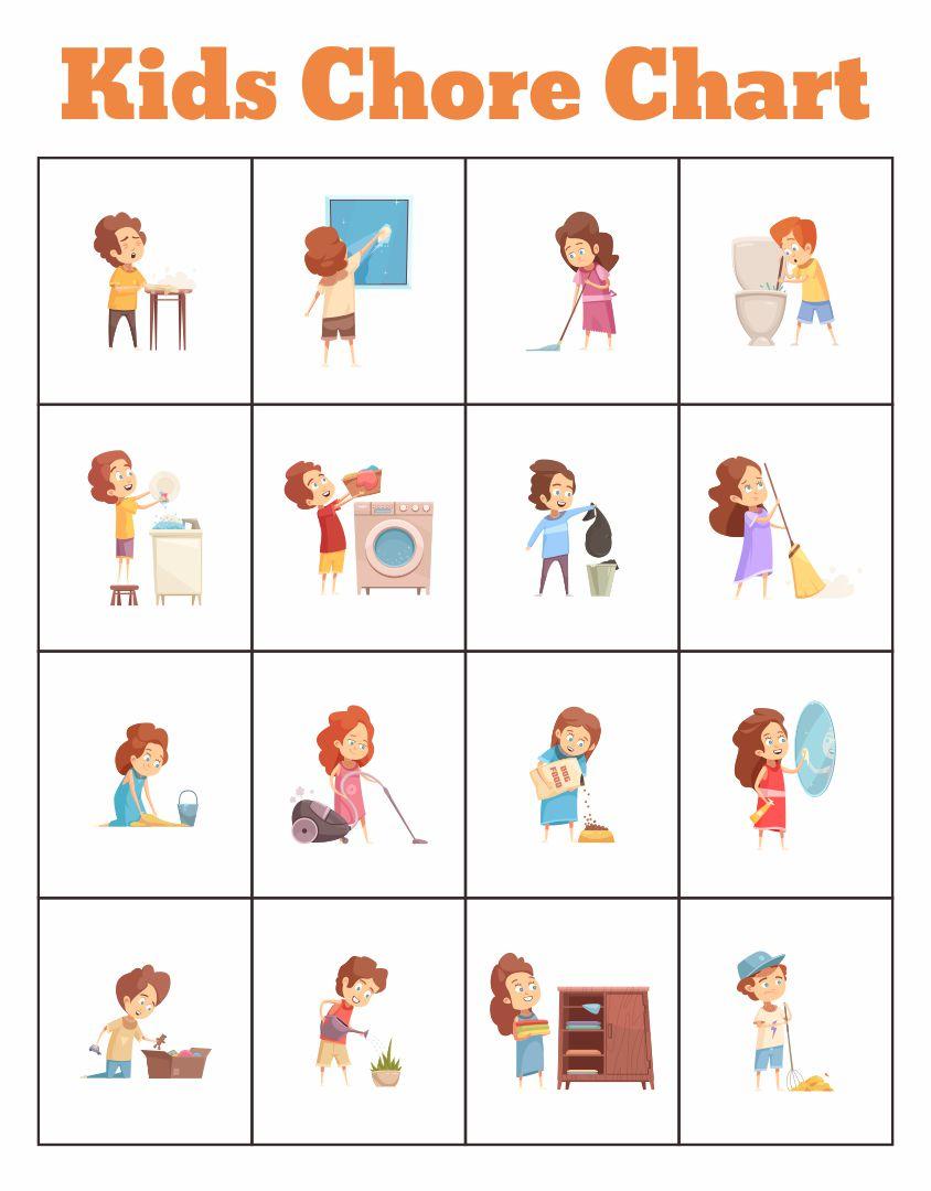 Pin by Vanessa Jones on Chore Chart | Chores for kids, Chore chart kids,  Preschool chore charts