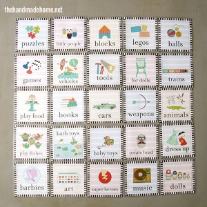 Kids Toys Organization Labels - Having