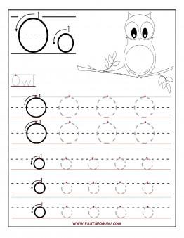 7 Best Images of Letter O Worksheet Preschool Printable ...