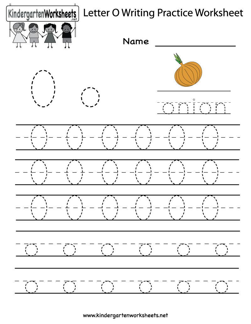 Worksheets Letter O Worksheet 7 best images of letter o worksheet preschool printable writing practice worksheet