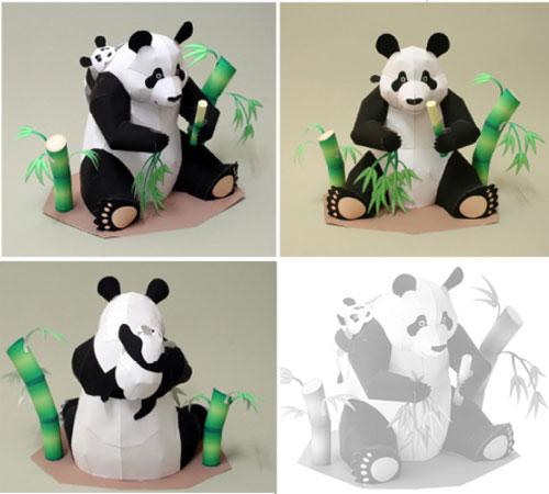 7 Images of Panda Cute Printable Crafts