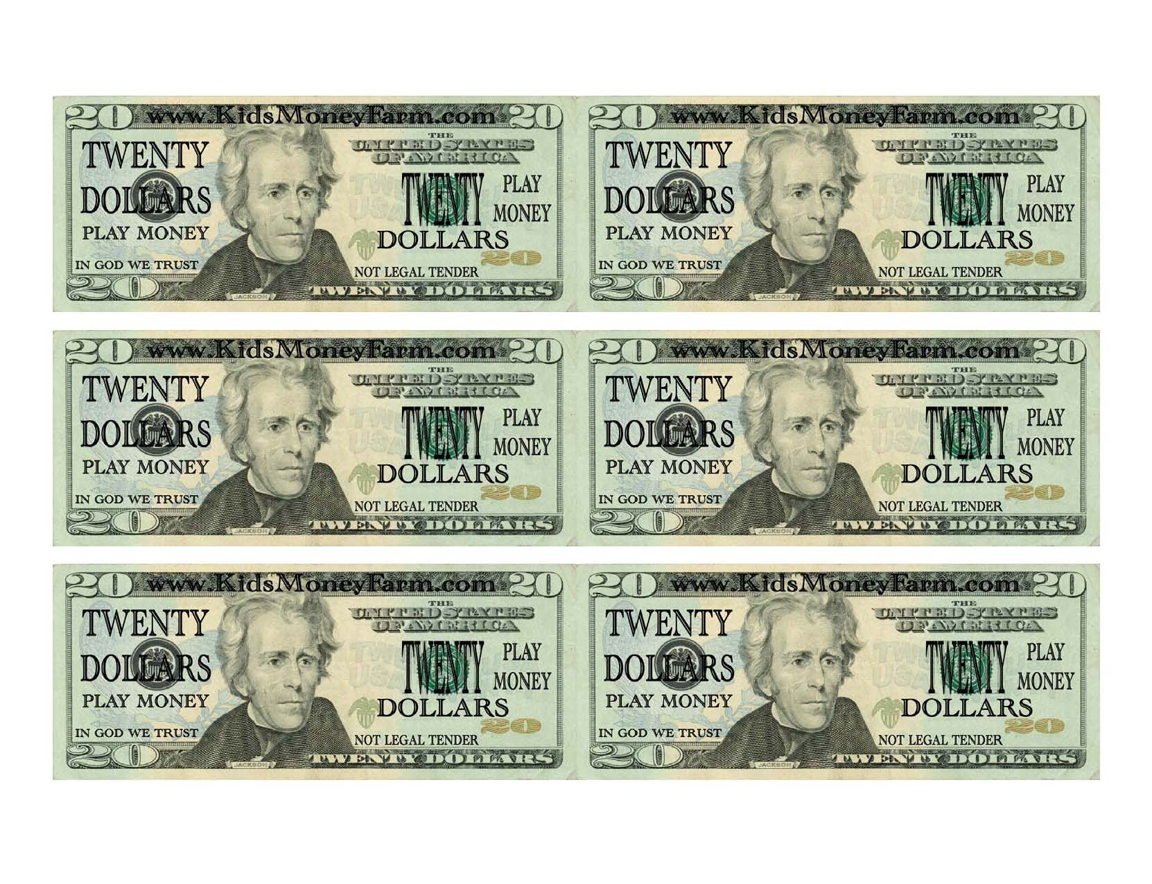 It's just a photo of Free Printable Play Money intended for classic
