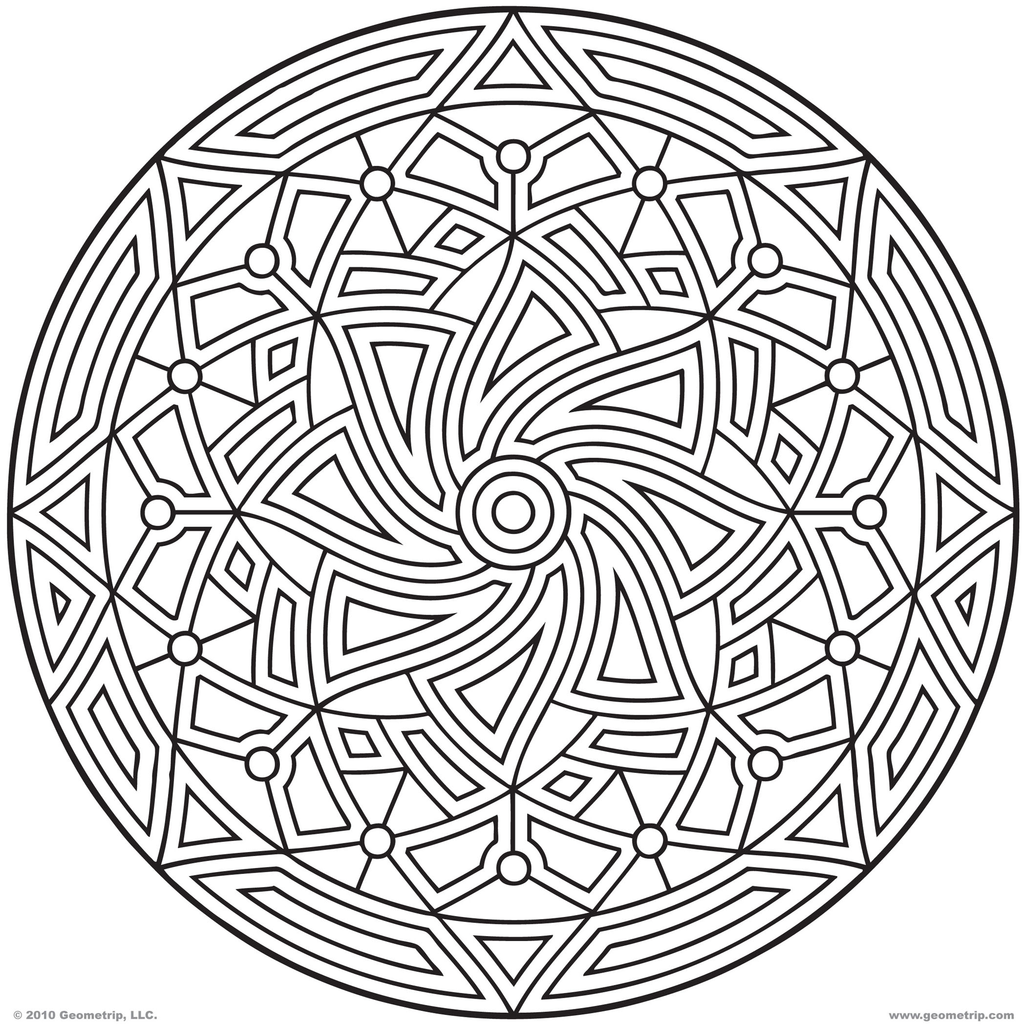 6 Images of Free Printable Graphic Coloring