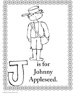 6 Best Images of Print Johnny Appleseed Printables - Printable ...