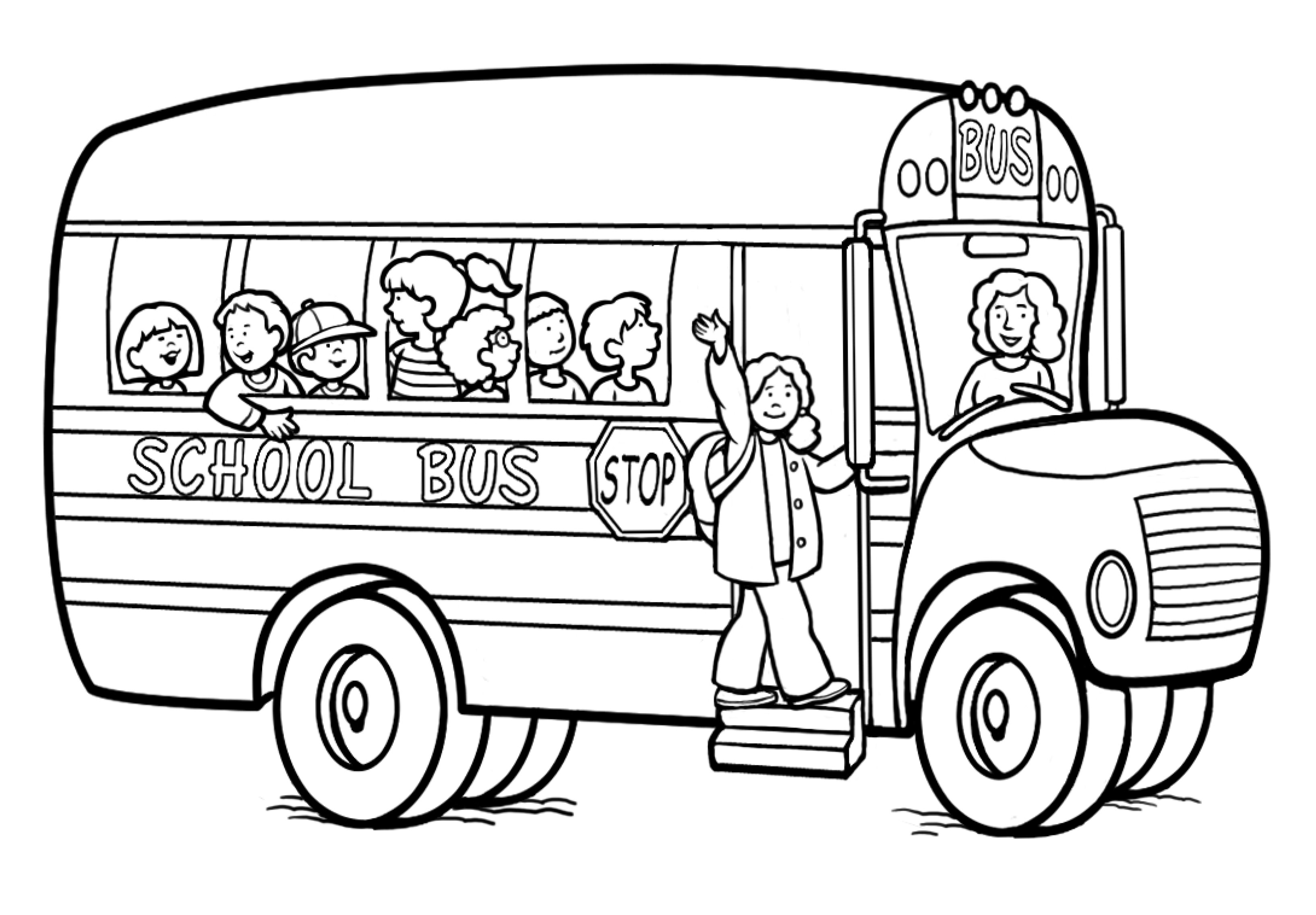 5 Images of Back To School Coloring Pages For Kids Printable