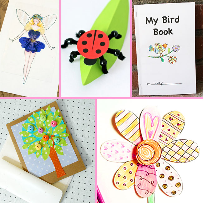 Spring Craft Activity Printable