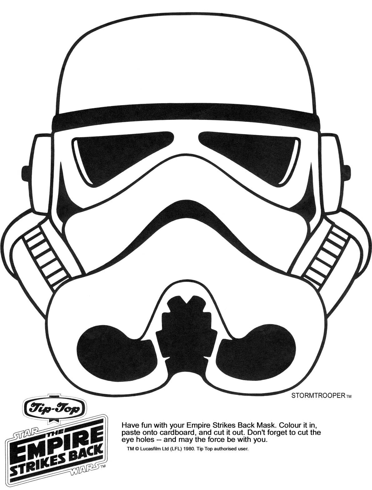 9 Images of Trooper Star Wars Printable Mask