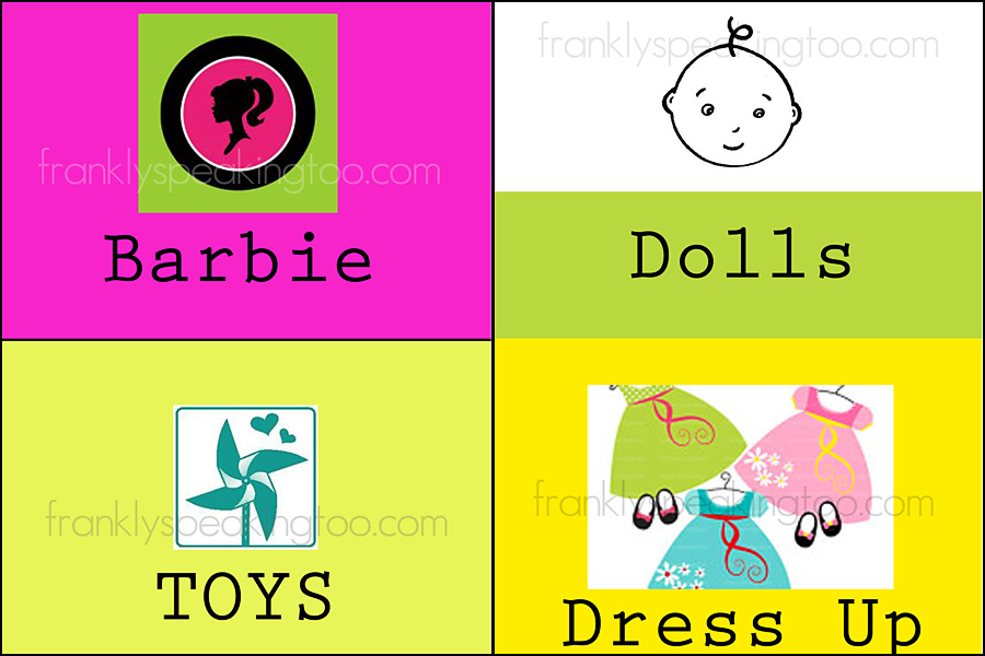 Toy Organization Labels Printable