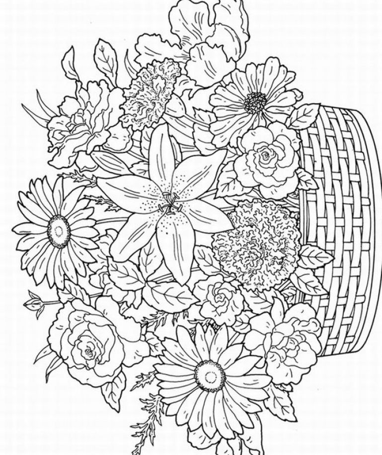 7 Images of Printable Adult Coloring Book