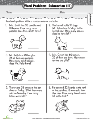 Number Names Worksheets word problem worksheets 2nd grade : 5 Best Images of 2nd Grade Word Problems Printable - 2nd Grade ...