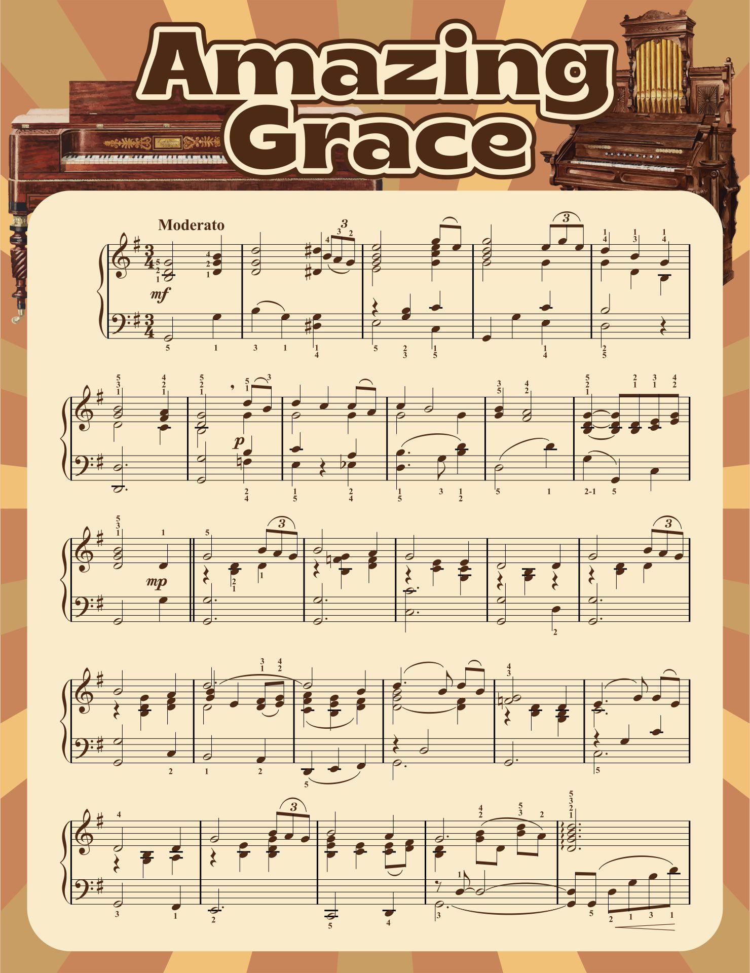 Amazing Grace Trumpet Sheet Music Printable
