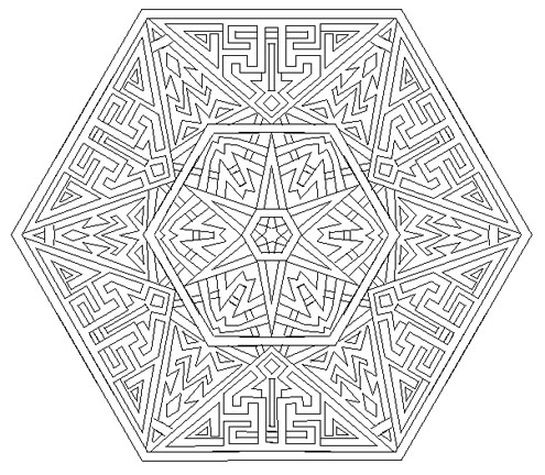8 Best Images Of Aztec Coloring Pages Printable