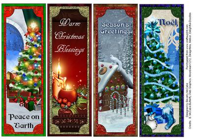 Beautiful Christmas Bookmark